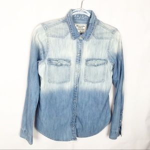 ABERCROMBIE & FITCH VINTAGE CHAMBRAY